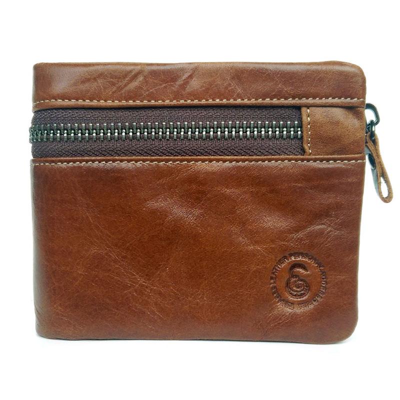 Гаджет  Cowboy vintage wallets 100% real leather cowhide short bifold men wallet removable zipper coin purse Drop shipping None Камера и Сумки