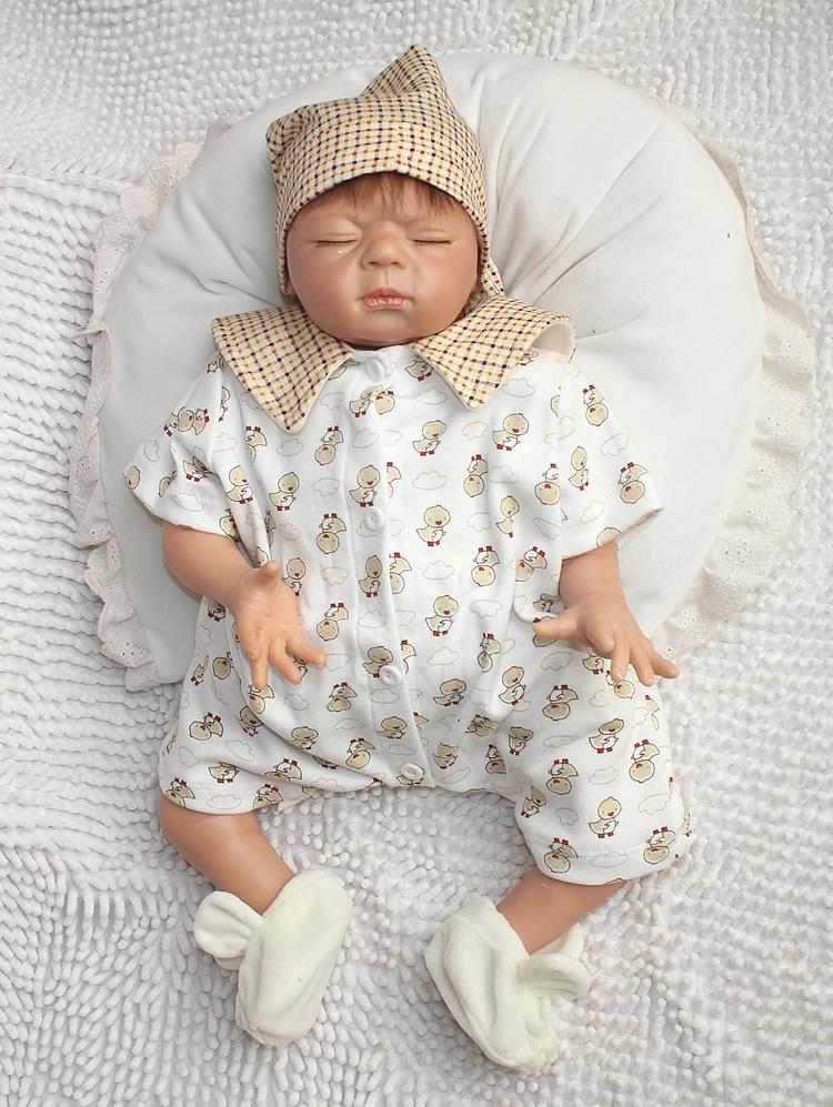ᑎ‰Fashion newborn 22 Reborn baby ᐊ dolls dolls Sleeping ...