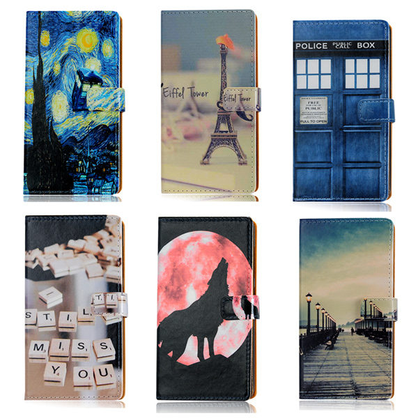 2015 New For Samsung Galaxy E7 SM-E700H Case Moon Wolf Keyboard Magnetic Leather Card Holder Phone Case Free Shipping(China (Mainland))