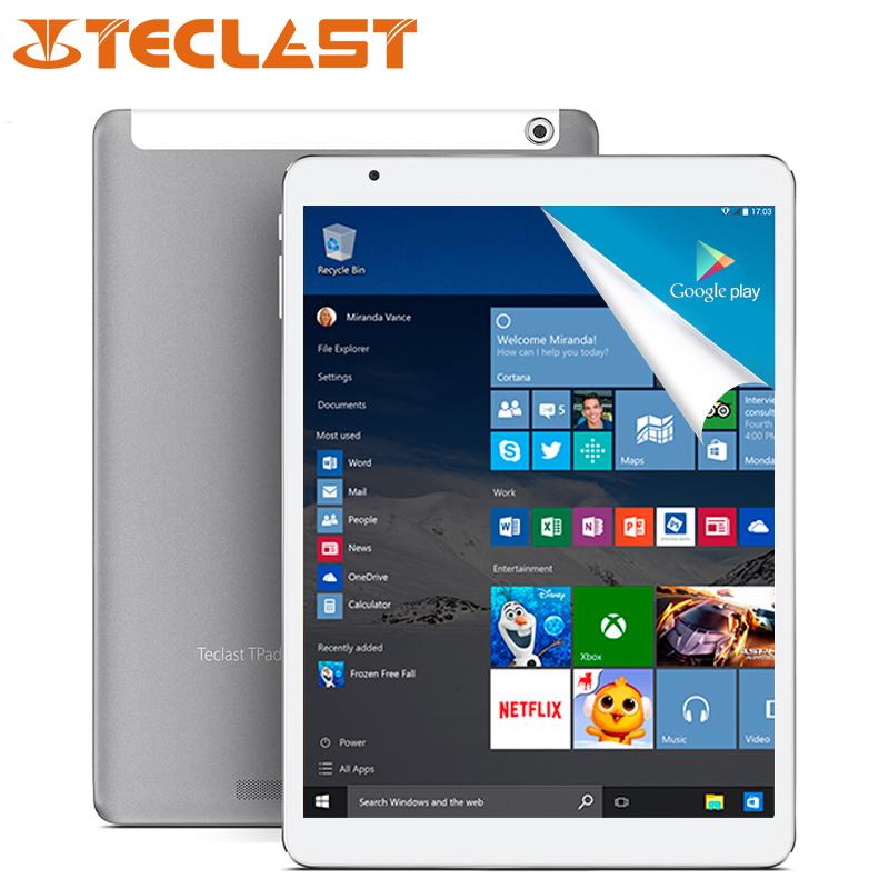9.7 inch Teclast X98 Pro Dual Boot Windows 10 & Andriod 5.1 Tablet PC Intel Cherry Trail Z8500 4GB LPDDR3 64GB eMMC(China (Mainland))