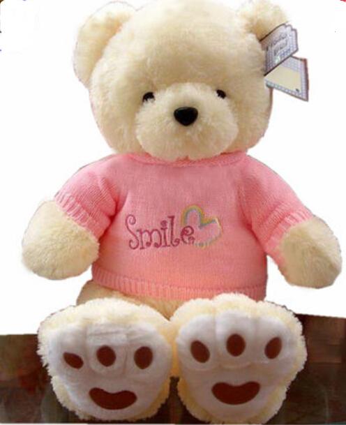 Children'S Toys Bear Hug Teddy Bear Plush Toy Sweater Large Birthday Gift Valentine'S Day 70cm(China (Mainland))