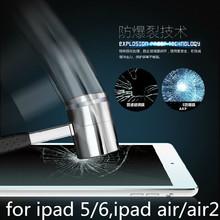0.28mm 9 h new ultra clear vetro temperato protezione dello schermo della pellicola della protezione per ipad 5/6 ipad air 1/2(China (Mainland))