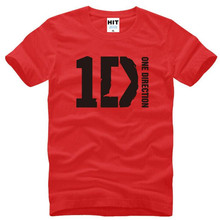 Buy One Direction 1D Rock Music T Shirts Men New Summer Short Sleeve O Neck Cotton Men's T Shirt Tee Camisetas Hombre Fans Clothing for $9.99 in AliExpress store