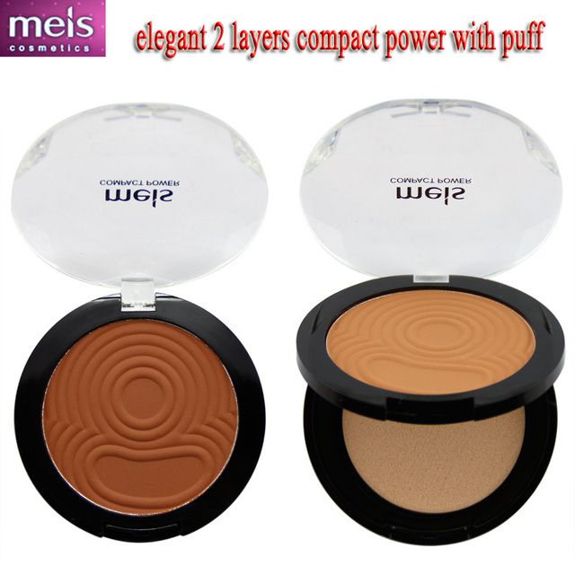 Порошок maquiagem неизолированный минералы компактный электропитание для макияжа ...