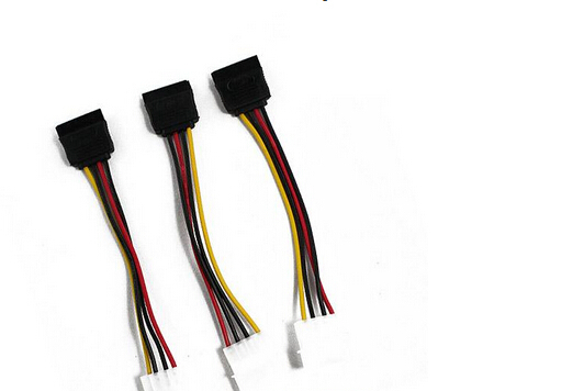 (10pcs) 3 IDE to Serial ATA SATA Hard Drive Power Adapter Cable(China (Mainland))