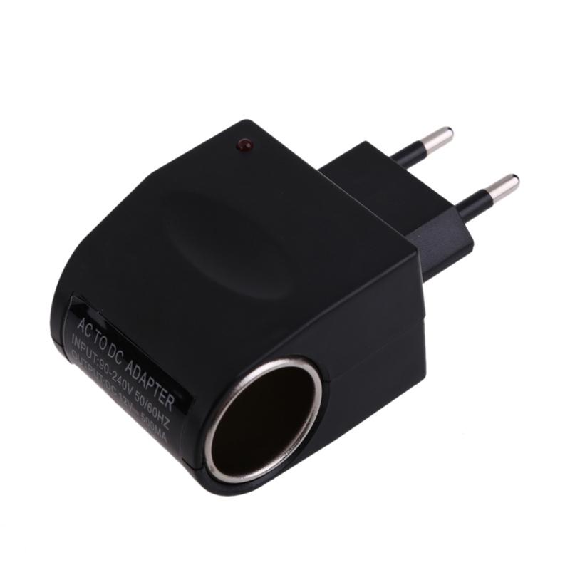 FW1S 110V-220V AC 12V DC EU Car Power Adapter Converter Cigarette Lighter Socket(China (Mainland))