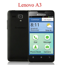 ZK3 Original Lenovo A3 Quad Core 1.2GHz Mobile Cell Phone 4″ Dual SIM WCDMA 3G GPS Unlocked Android Smartphone russian language