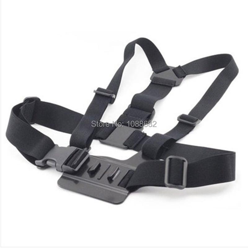 Gopro Accessories Set Helmet Harness Chest Belt Head Mount Strap Monopod Go pro Hero 4 Session 3+ SJCAM M10 Sj4000 Xiaomi Yi 4K
