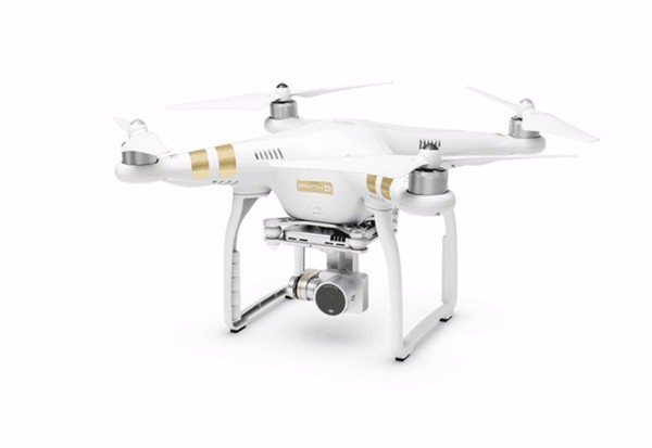 DJI Phantom 3 Professional Camera Drone FPV RC Helicoper with 4K Camera Build in GPS System And FPV live HD View Free Gift