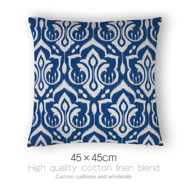 achetez en gros coussins bleu en ligne des grossistes coussins bleu chinois. Black Bedroom Furniture Sets. Home Design Ideas