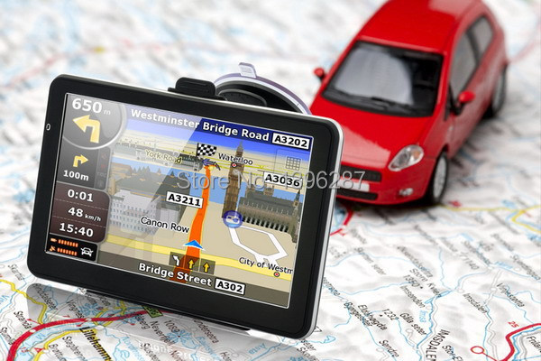 New 5 inch HD Car GPS Navigation FM 4GB/128M DDR/800MHZ 2014 Map Free Upgrade Russia/Belarus/Spain/ Europe/USA+Canada/Israel(China (Mainland))