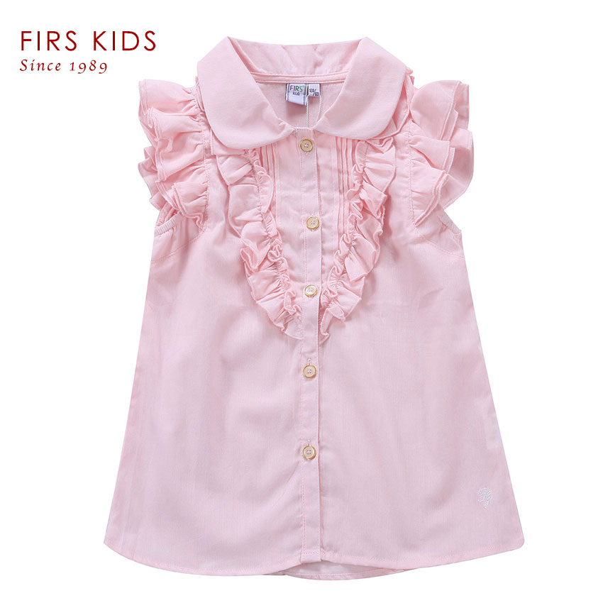 2016 FIRS KIDS 100%Cotton Girls T-shirt summer children's T-shirts kids baby girls tops shirt kids girls tees t shirt clothes(China (Mainland))