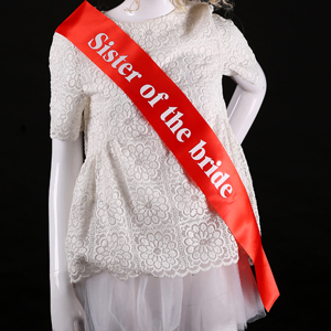 Wedding Gift For Sister Of The Bride : supplier sister of the bride sashes decoration marriage wedding gifts ...