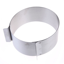 High Quality Stainless Steel Round Circle Cookie Fondant Cake Mold Cutter Pastry Tool Free Shipping(China (Mainland))