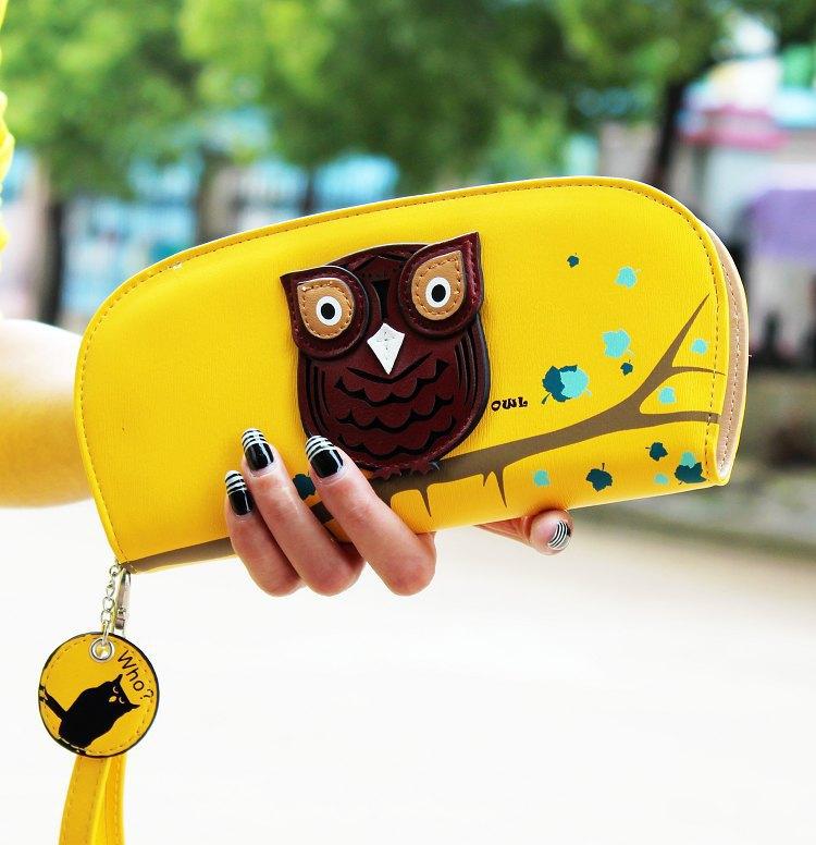 Гаджет  Free shipping owl brand desigual women pu leather wallet fashion purse clutch wallet purses lady purse female wallet bags woman None Камера и Сумки