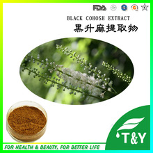 Natural China black cohosh extract triterpene glycosides(China (Mainland))