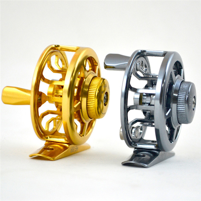 New Fishing Reel Aluminum Alloy Fly Fishing Reel Saltwater Fishing Wheel Molinete Pesca Coil For Baitcasting Reel(China (Mainland))
