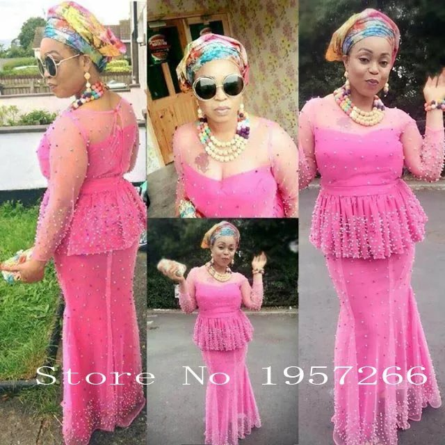 High Quality Nigerian Beaded Lace Fabrics Latest African Lace Fabric 2017 Embroidered Tulle Net Lace For Women J562A(China (Mainland))