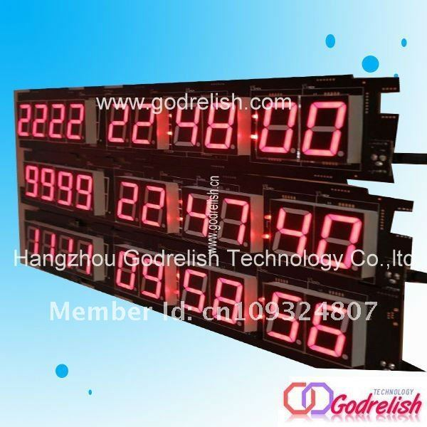 days date led digital timer