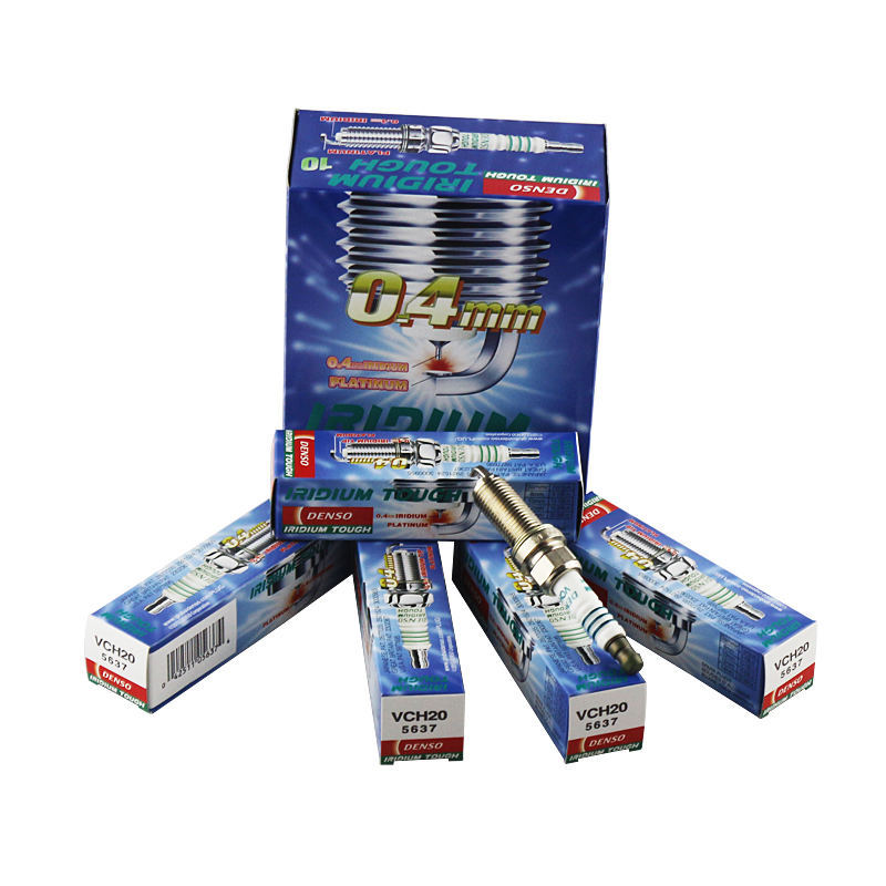 DENSO car auto ignition iridium platinum spark plugs VCH20,Tiida Livina Sylphy Toyota Crown Vios Prius Corolla EX free shipping