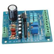 Buy New AC 12V Stereo VU Meter Driver Board Amplifier DB Audio Level Input Backlit for $8.38 in AliExpress store