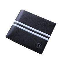 Hot Sale 2015 Men Wallets Short Billeteras Mens Brand Wallet PU Leather Coin Wallet Men portefeuille