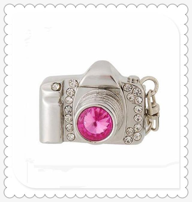 camera Diamond usb flash drives USB 2.0 Memory Drive Stick Pen/Thumb/Car 4gb 8gb 16gb 32gb 64g S584(China (Mainland))
