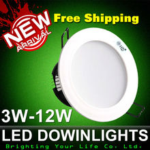 Free Shipping 2015 Led Downlights 220v Ceiling Led Downlight 5630 Lamps Lamp Home Indoor Lighting Shoot light(China (Mainland))