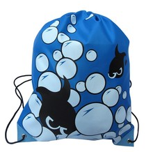 HIgh Quality Double Layer Drawstring Gym Waterproof Backpacks Swimming Sports Beach Bag Travel Portable Fold Mini Shoulder Bags