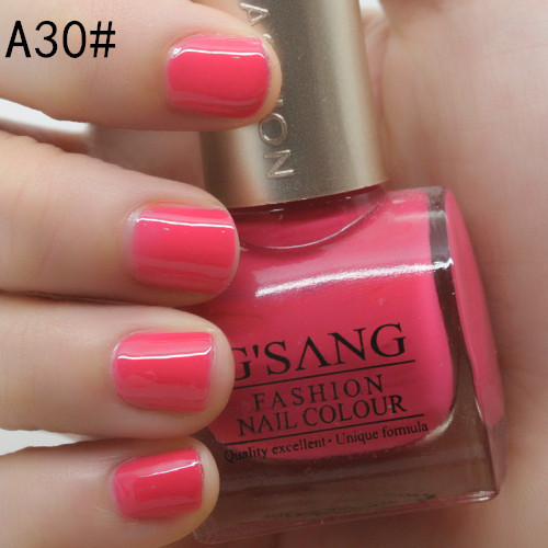 new arrival china gsang new glaze brand 180 candy sweet colors nail lacquer art polish varnish enamel by free shipping(Hong Kong)