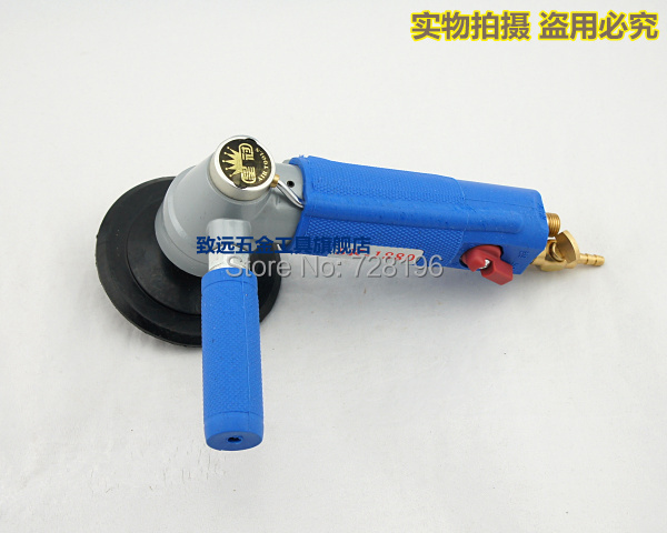 High Quality Water-fed Type 3 inch Professional Pneumatic Water Sander Air Wet Sander / Polisher Angle Grinder| Tool