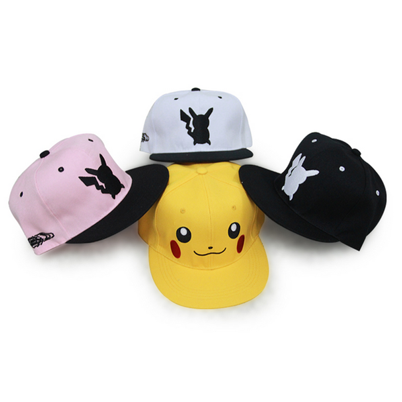 Cartoon Lovely Go Unisex Snapback Adjustable Baseball Hat Cap Hip Hop Monster Autumn Winter Hat 12 Styles(China (Mainland))
