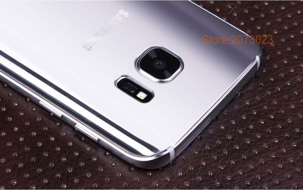 Case add Glass Film Free for Samsung Galaxy S 7 Phone Unlock Smartphone MTK6592 Octa Core 4G RAM 64GB 12MP mtk6582 Original Logo