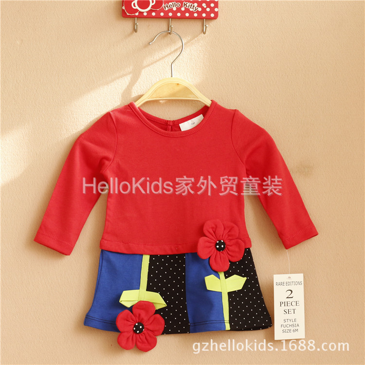 2015 Fashion Brand Autumn Baby Girls Boutique Outfits
