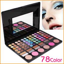 Professional Makeup Kit New Pro 78 Color Makeup Pigment Eyeshadow Blush Palette Eye Shadow(China (Mainland))