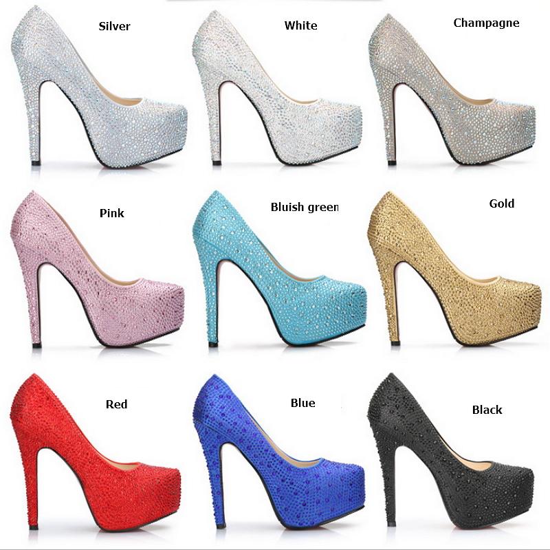 5a4859ce907 silver rhinestone red bottom heels