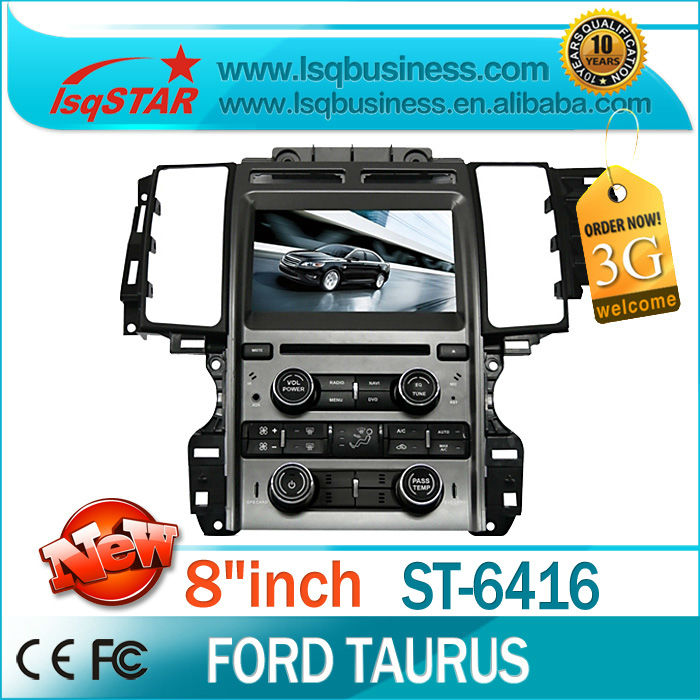 "2014 free shipping 8""Car Navigation GPS Video for Ford Taurus with Bluetooth Radio DVD Mp3 SP SD USB Vehicle Wheel Control new(China (Mainland))"