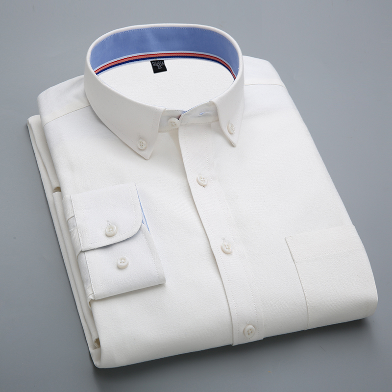 2016 Spring Latest Long Sleeve Men Oxford Shirts Casual Business Mens Shirts High Quality Stylish China Imported Male Clothing(China (Mainland))