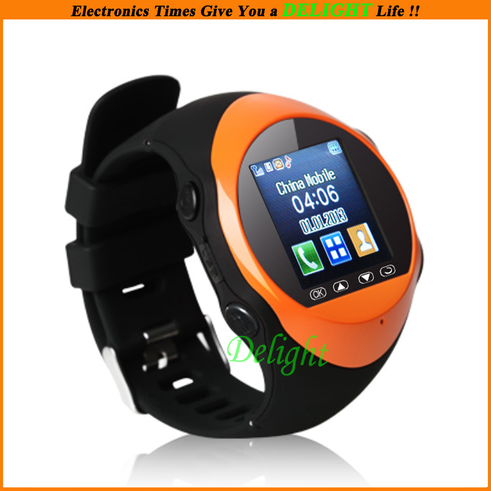 Brand Luxury 1.4'' Touch Screen Wristwatch Mobile Phone MP3 Bluetooth Cell Watch (DL-W027) - Delight Technology Co., Ltd. store