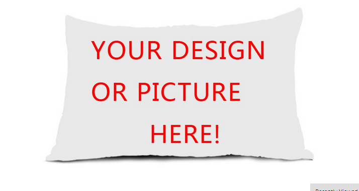 New Personalized Custom Logo Design Your Own Photo Zippered Pillow Case (one side)(China (Mainland))