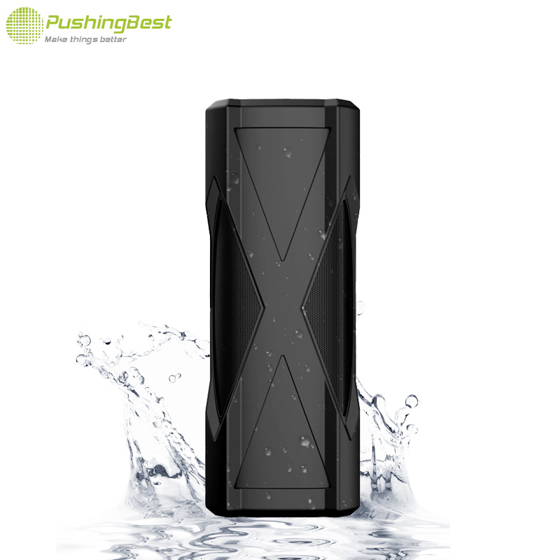 Wireless Portable Speaker Outdoors Waterproof loudspeakers 360 degree stereo subwoofer surround Column with button For PC mobile(China (Mainland))