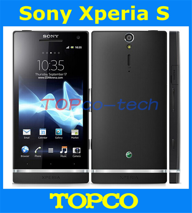 """Original unlocked Sony Xperia S LT26i Android mobile phone Dual Core 4.3"""" 12MP 32GB internal storage LT26i WIFI GPS dropshipping(China (Mainland))"""