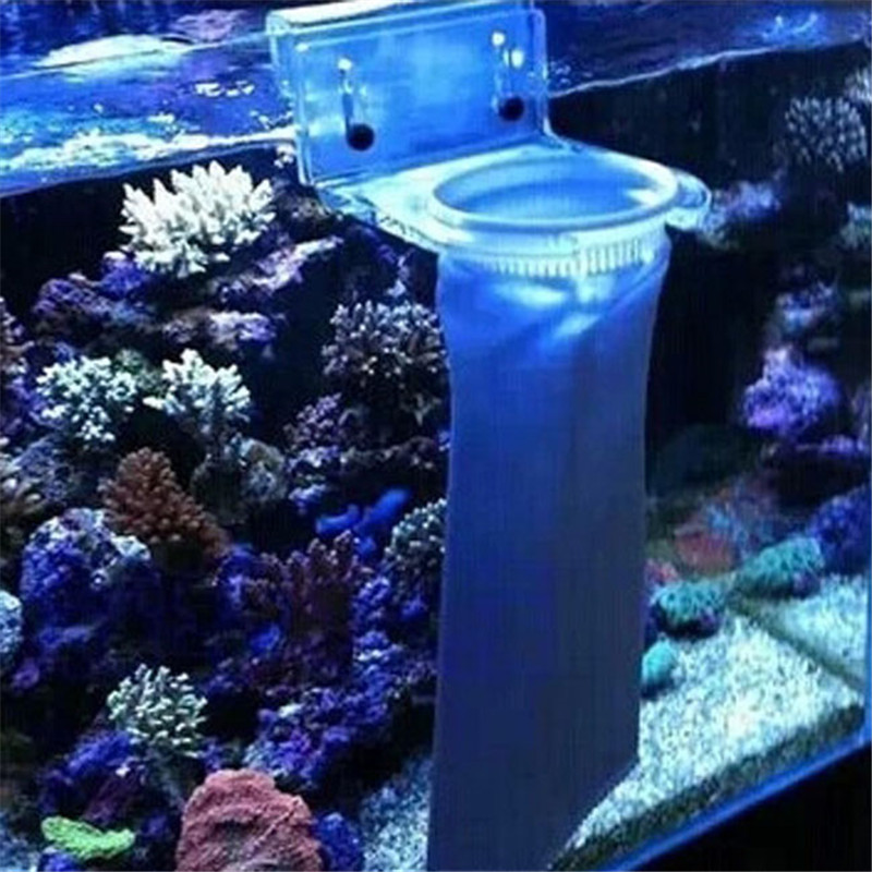 2016 New Fish Tank Filter Mesh Bag Easy Light Weight Aquarium Filter Socks 150 200 Micron Sump Micron Felt Pre Filter bags(China (Mainland))