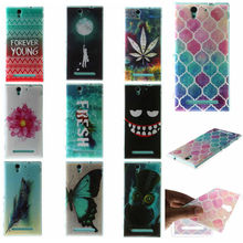 Buy Fashion Butterfly Pattern Soft TPU Silicon sFor Sony C3 case Sony Xperia C3 case S55T S55U D2533 Dual D2502 C 3 Phone Cover for $1.32 in AliExpress store