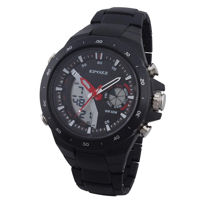 New sales male clock electronic digital Men sports watches waterproof multifunction military watch backlight montre homme reloj<br><br>Aliexpress
