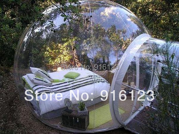 outdoor camping bubble tent,clear inflatable lawn tent,bubble tent(China (Mainland))