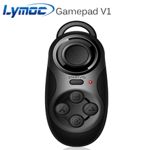 Lymoc Gamepad V1 Support Remote Bluetooth Game Control Self-Shot Compitiable VR,Smart Phone,etc Android IOS And PC systems