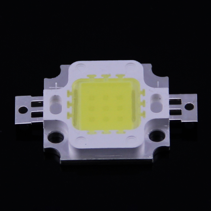 10pcs/lot 10W LED Integrated High power LED Beads White/Warm white 900mA 9.0-12.0V 800-900LM 24*40mil Chips Free shipping!(China (Mainland))