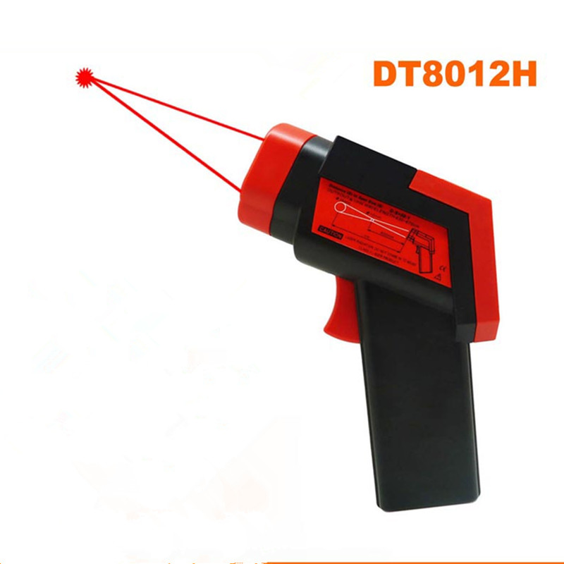 Temperature range -50C~1200C factory direct sale infrared thermometer with laser pointer termometro digital gun torch(China (Mainland))