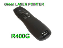 free shipment !!!Lmay tech Green R400 laser pointer presenter wireless  Green
